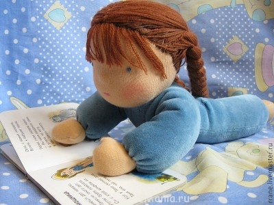Провожу мастер классы по куклам через интернет - Вальдорфская кукла1.jpg
